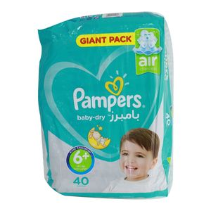 Pampers Baby Dry S6+ 1pack