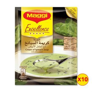 Maggi Cream Of Spinach Excellence Cream 10x49g