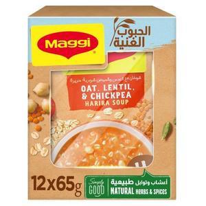 Maggi Oat Harira Soup 12x65g