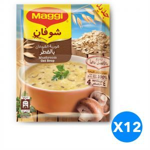Maggi Oat With Mushroom Soup 12x65g