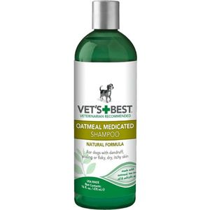 Vets BestOatmeal Medicated Dog Shampoo 16oz