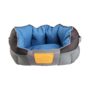 Gigwi Place Soft Bed Tpr Blue & Black Large 1pc