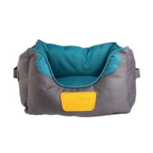 Gigwi Place Soft Bed Tpr Green & Gray Small 1pc