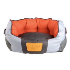 Gigwi Place Soft Bed Tpr Red & Orange Large 1pc