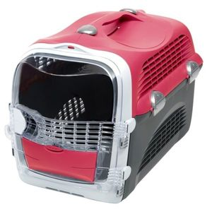 Cabrio Cat Carrier System Cherry Red 1pc