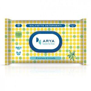 Arya Wet Wipes Lemongrass 1pc