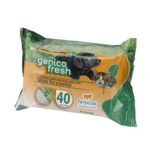 Ferplast Genico Fresh Wipes Green Tea Scented 40pcs