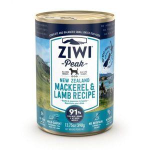 Ziwi Peak Mackerel & Lamb Recipe Canned Dog Wet Food 390g