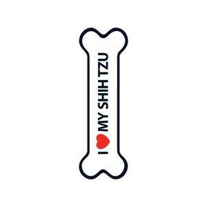 Magnet & Steel I Love My Shih Tzu Magnet 1pc