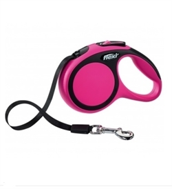 Flexi New Comfort Pink Tape Leash Extra Small 3m