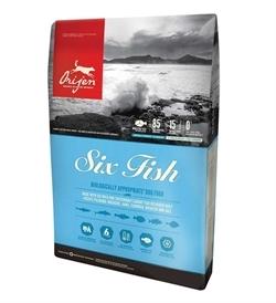 Orijen Six Fish Dog Food 6kg