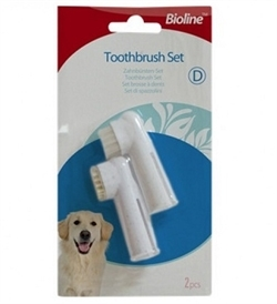 Bioline Finger Toothbrush 2pcs