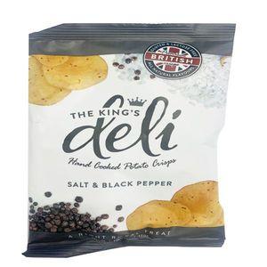 King's Deli Salt & Black Pepper 40g