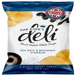 King's Deli Salt & Balsamic Vinegar 40g