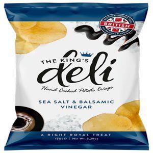 King's Deli Salt & Balsamic Vinegar 150g