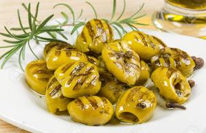 Grilled Green Olives 250g