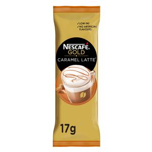 Nescafe Gold Caramel Latte Sachet  17g