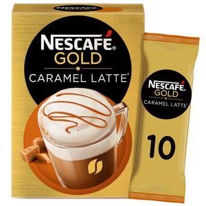 Nescafe Gold Caramel Latte Sachet 10x17g