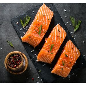Salmon Fillet Frozen Norway 1pc-1400g