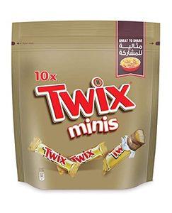 Twix Minis Chocolate Mini Bars Pouch 200g