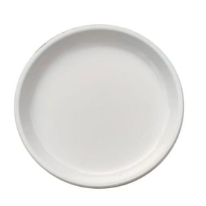 Fathima Plastic Plate Plain 7  inches 25pcs