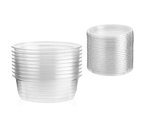 Fathima Plastic Container With Lud 20pcs