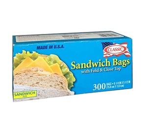 Classic PL Sandwich Bags 300pcs