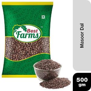 Green Farm Masoor Whole 500g