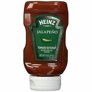 Heinz Jalapeno Ketchup 14oz