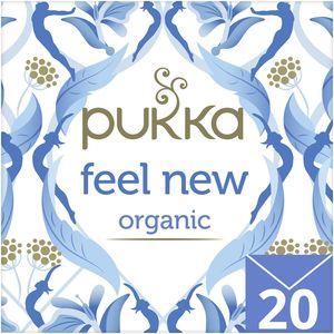 Pukka Feel New Organic Herbal Tea With Aniseed Fennel & Cardamom 20s