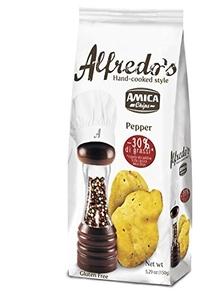Alfredos Pepper Chips 150g