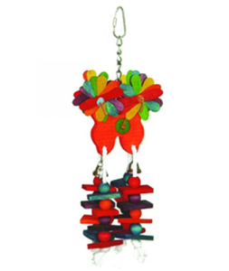 Bird Toy Natural And Clean Mix Color 1pc