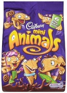 Cadbury Mini Animals 139g