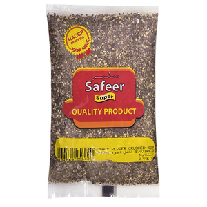 Safeer Black Pepper Crushed 100g