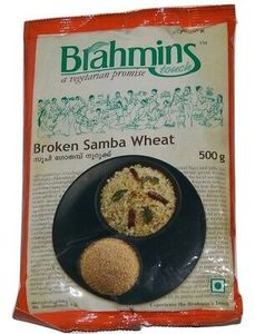 Brahmins Broken Samba Wheat 500g