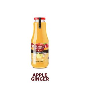 Family Harvest Fresh Apple & Ginger Juice 1L