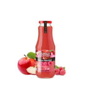 Family Harvest Fresh Apple & Strawberry Juice 300ml