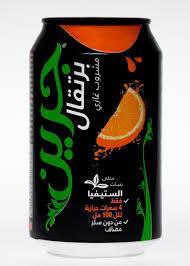 Green Orange Carbonated Drink 330ml
