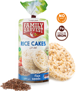 FM Rice Cake With Flax Seeds 100g
