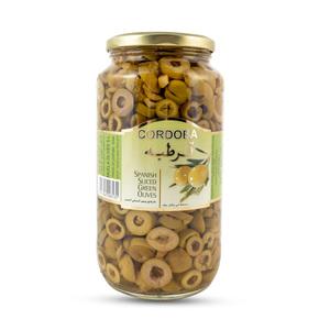 Cordoba Sliced Green Olives 450g
