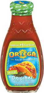 Ortega Taco Sauce Mild 226g