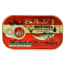 Sardine In Veg Oil 120g