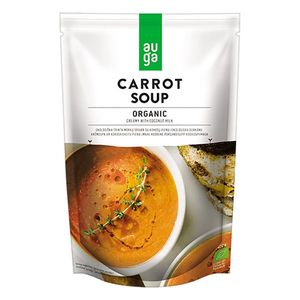 Auga Organic Carrot Soup With Coconut Milk 400g