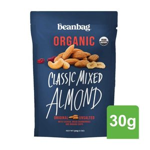 Beanbag Organic Mixed Nuts 35g