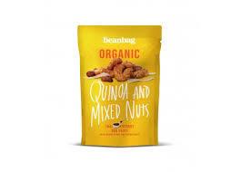 Beanbag Organic Quinoa & Mixed Nuts 35g