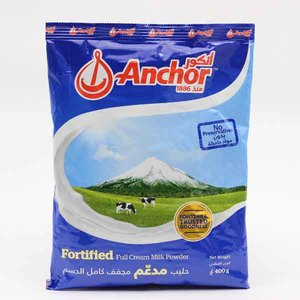 Anchor Full Cream Milk Powder Sachet 400g