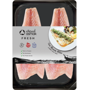 Asmak Seabream Whole Round Cleaned 300g