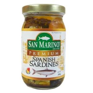 San Marino Prem Sardines 240g