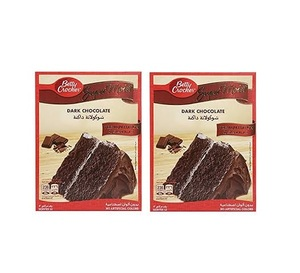 Betty Crocker Supermoist Dark Chocolate Premium Edition Cake Mix 2x510g