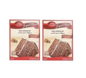 Betty Crocker Supermoist Milk Chocolate Premium Edition Cake Mix 2x510g